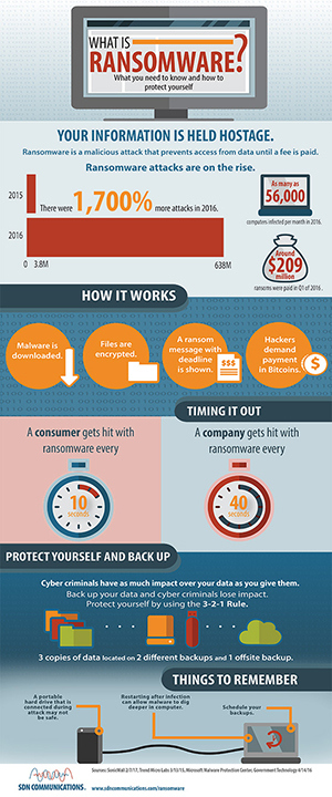 What is Ransomware Infographic