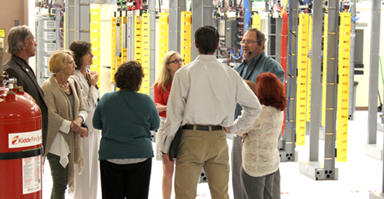 County Commission Data Center Tour