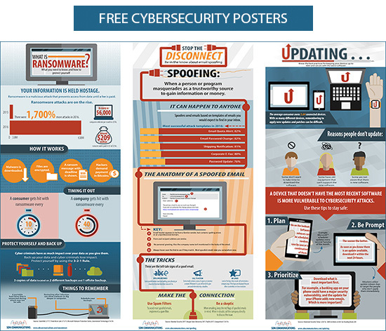 Free Cybersecurity Posters