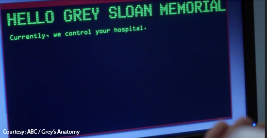 ABC / Grey's Anatomy Ransomware Episode