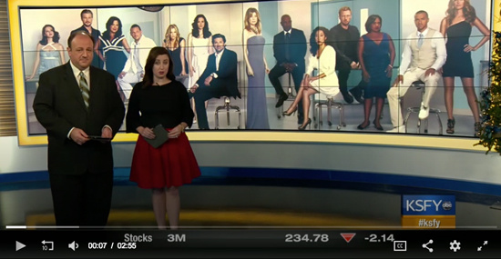 KSFY Features SDN's Grey's Anatomy Screening